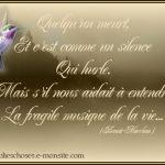 Message de deuil