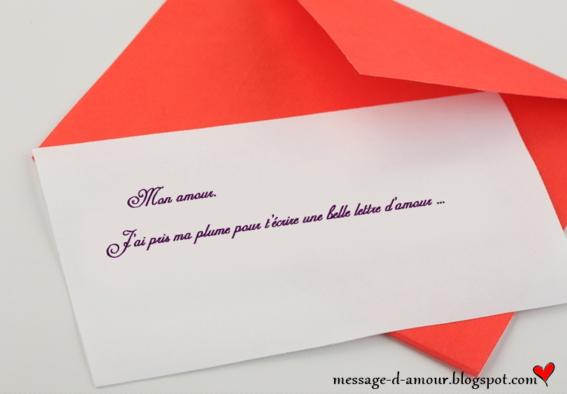 modele de lettre de rencontre amoureuse