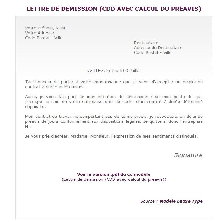Modele Lettre Rupture Conventionnelle Du Contrat De Travail A Duree