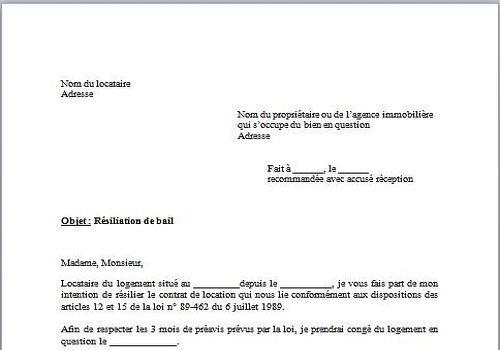 exemple lettre de d u00e9nonciation