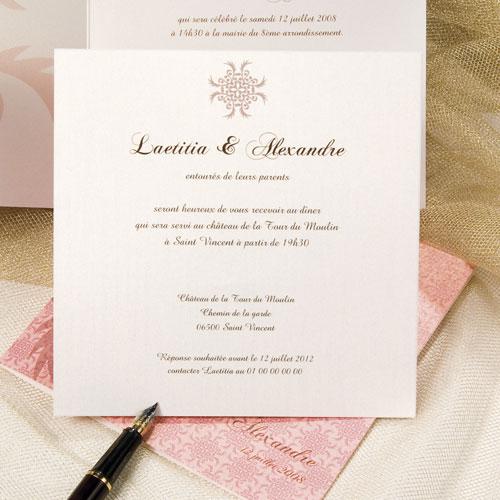 invitation mariage en ligne mod le de lettre. Black Bedroom Furniture Sets. Home Design Ideas