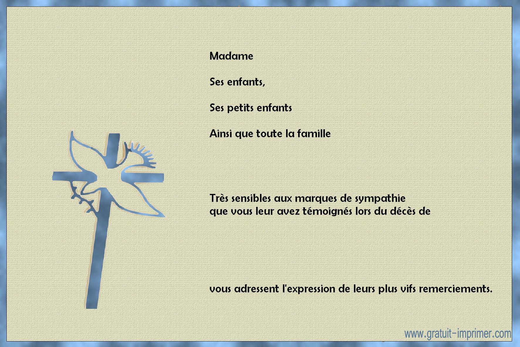 Fabuleux Message de condoléances Archives - Page 8 sur 25 - Modèle de lettre OV62