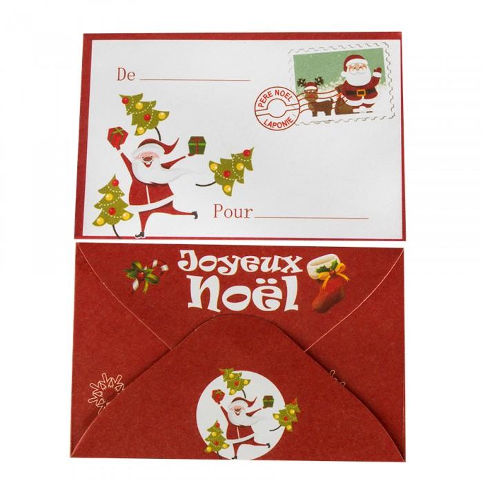 Enveloppe pere noel mod le de lettre - Enveloppe de noel ...