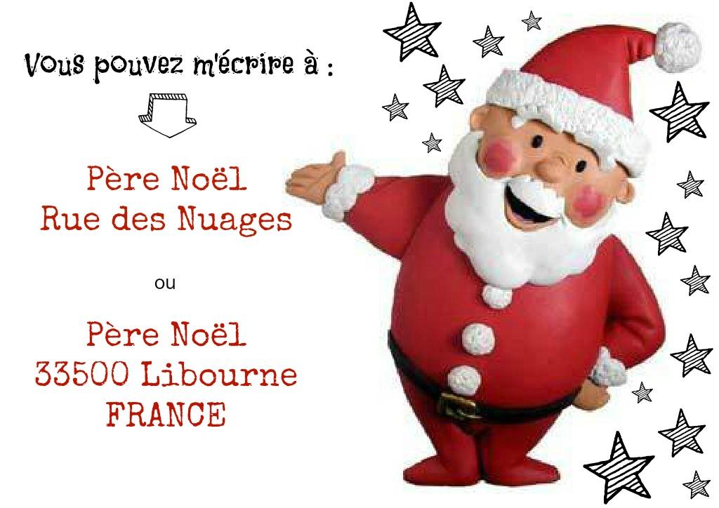 Good Adresse Pere Noel Libourne #8: Lettre Pere Noel Adresse