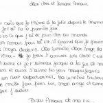 Les lettre d amour en français