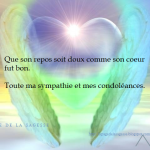 Sympathie condoléances