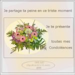 Condoléances messages en francais