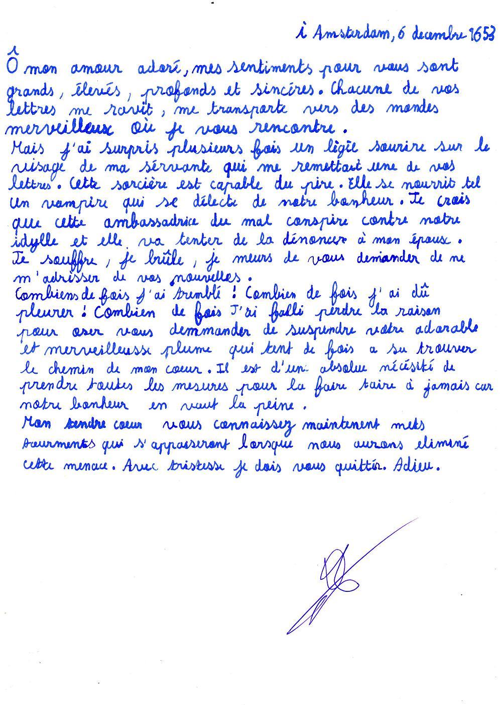 lettre  u00e9mouvante d amour