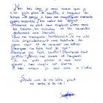 Ecrire lettre amour
