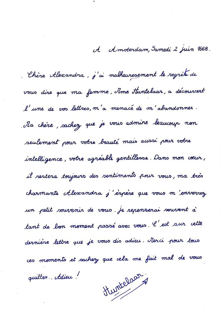 lettre de d u00e9claration d amour pour elle