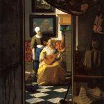 Vermeer la lettre d amour