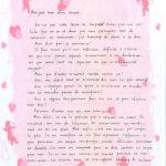 Des lettres d amour en français