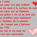 Un texte d amour