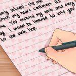 Commencer une lettre d amour