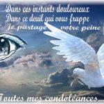 Message de deuil pour un ami
