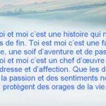 Un long message d amour