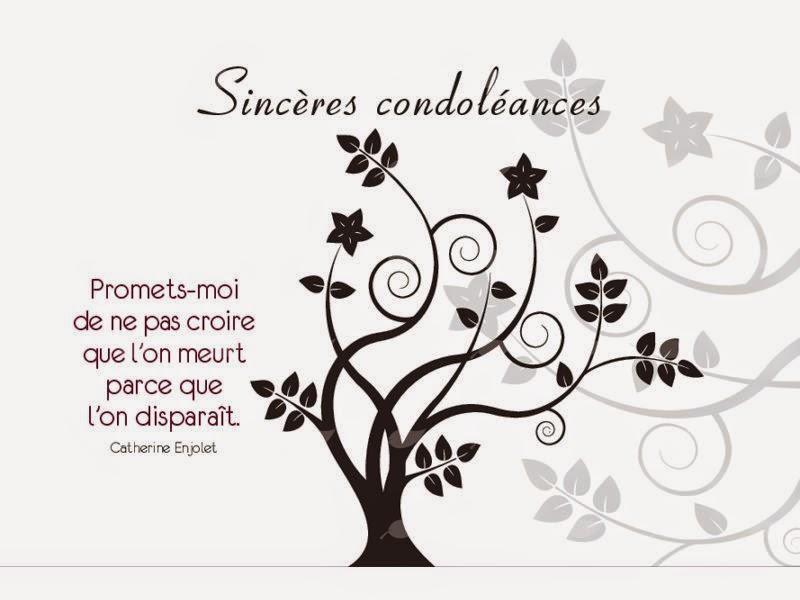 Exemple de condoléances à un ami   Modèle de lettre