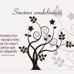 Exemple de texte condoléances