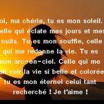 Message d amour qui touche