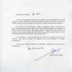 Condoléances français