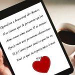 Declaration d amour à une femme