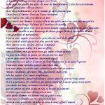 Modele lettre d amour pour lui