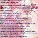 Lettre d amoure pour une fille