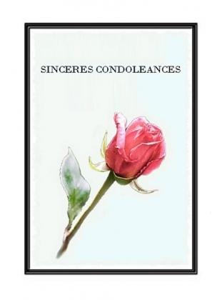 presenter ses condoleances