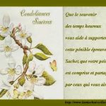 Messages condoléances exemples