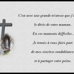 Lettre de condoléances famille