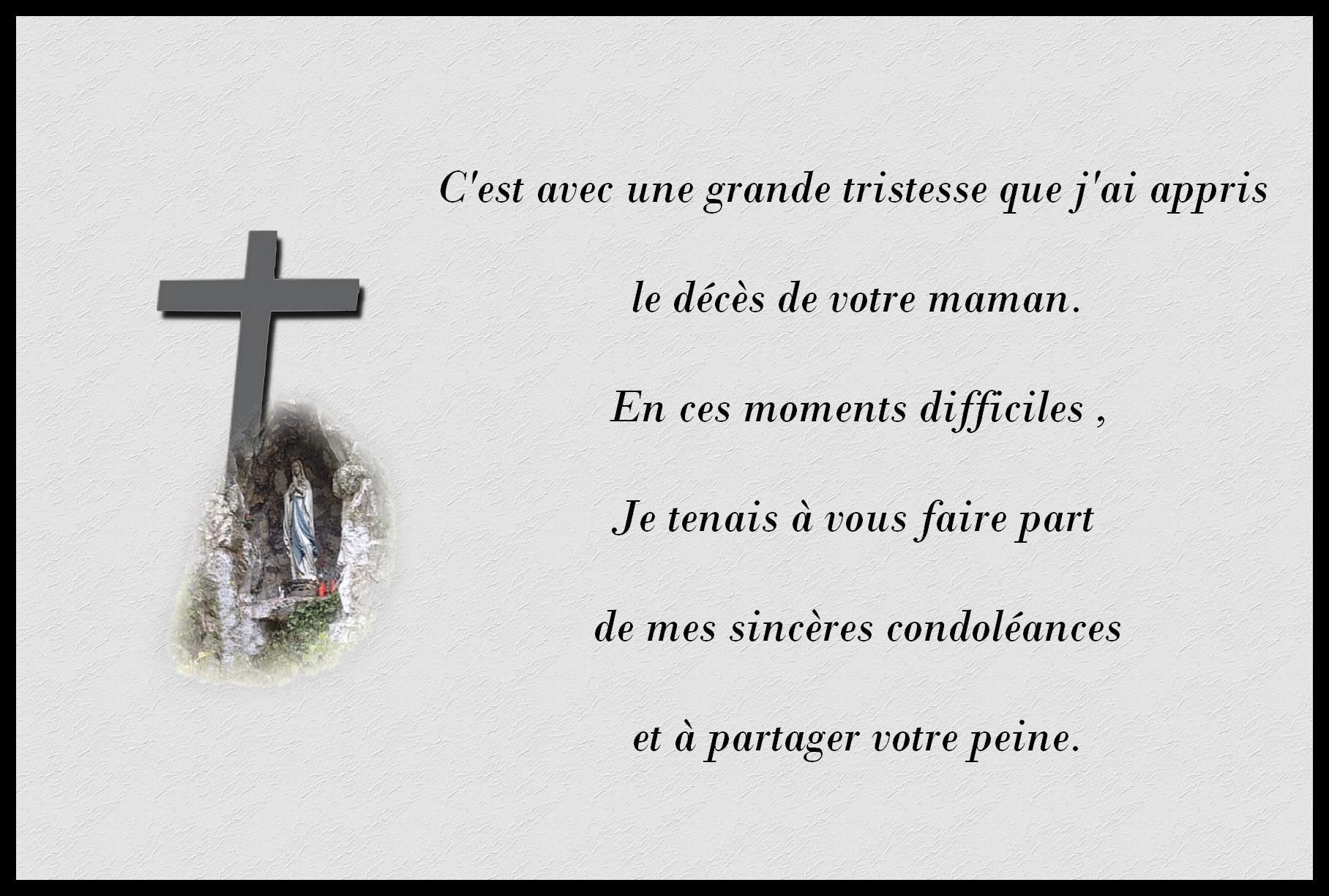 lettre condol u00e9ances coll u00e8gue
