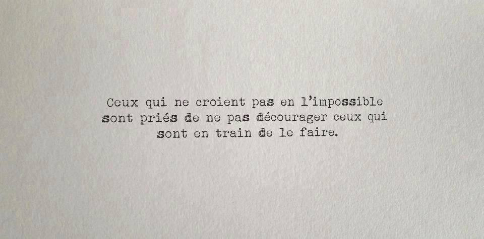 lettre amour impossible