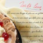 Lettre d amour et d anniversaire