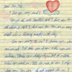 Ecrire une lettre d amour a son copain