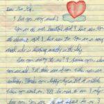 Lettre declaration amour