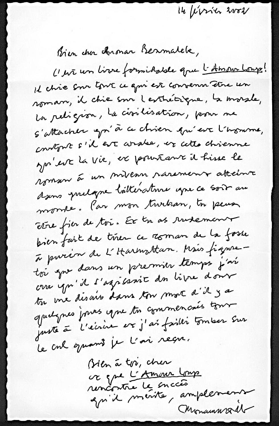 lettre d amour pour reconciliation