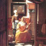 La lettre d amour vermeer