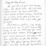 Une lettre d amour pour une femme