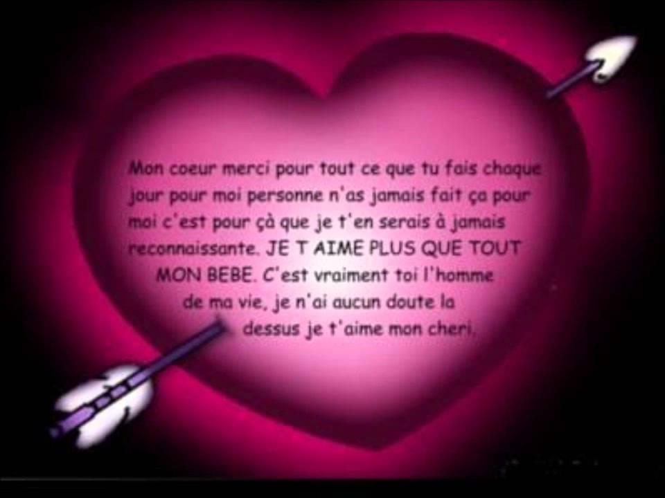 declaration d amour a un homme