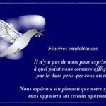 Condoléances pour un ami proche