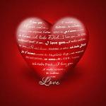 Ecrire des mots d amour