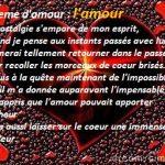 Message d amour pour nos 1 an
