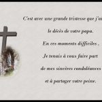 Lettre de condoléances pour le décès d un ami