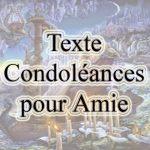 Petit mot de condoléance pour un décès