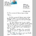 Exemple lettre de postulation