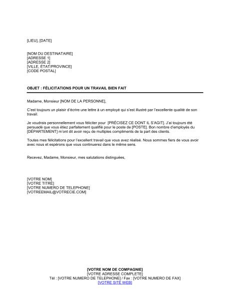 lettre de d u00e9part d un employ u00e9