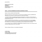 Lettre de demission avec preavis pdf