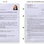 Lettre de motivation en français