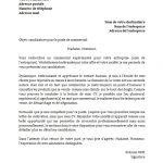 Exemple lettre de présentation emploi