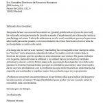 Modele de lettre de présentation pour un emploi